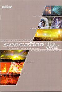 Cover  - Sensation 2003 - The Mega Mixes [DVD]